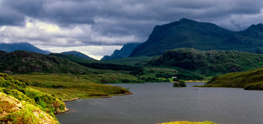 Fisherfield mountains & Loch Kernsary