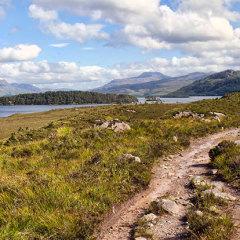 Loch Maree Slattadale to Tollie walk
